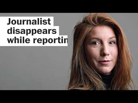 Journalist disappears while reporting aboard submarine
