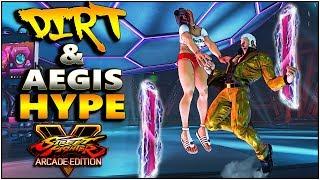SFV AE - Dirt & Aegis Hype Vol 3 | Urien Alex Ryu + More| Compilation - SF5