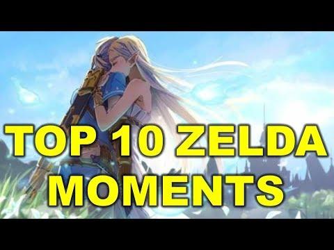 Top 10 Epic Legend of Zelda Moments
