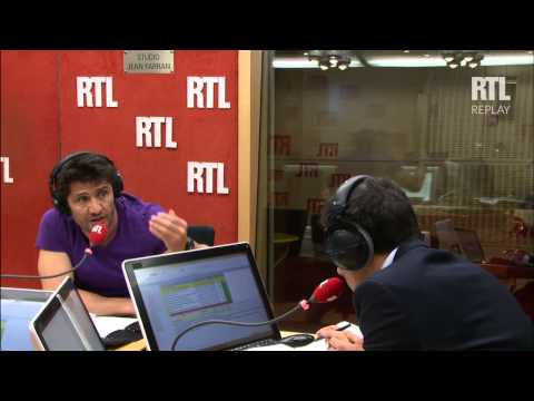 Les invités de RTL Soir : Bixente Lizarazu et la tribune VIP - RTL - RTL