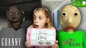 Baldi's Basics at Granny's Homeschool!Granny Horror Game and Baldi's Basics in REAL LIFE COMBINED
