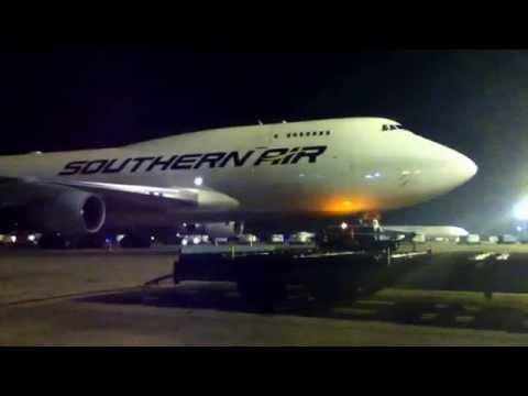 Boeing 747-400ERF. Southern Air. TCA Aeropuerto Ezeiza (parte 1)