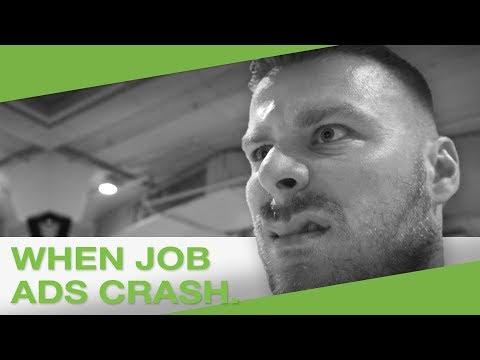 When job ads crash.