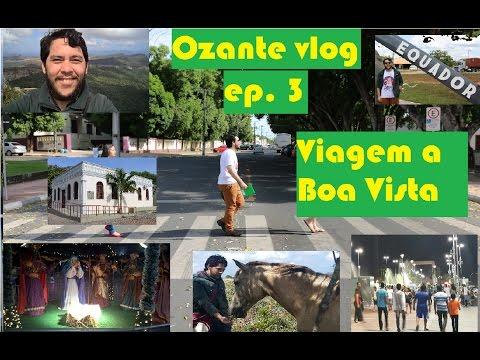 Viagem à Roraima - Vlog correspondência