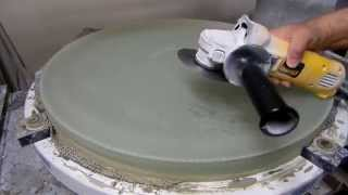 Grinding a 25-Inch F3 Telescope Mirror: Thinning and Flattening the Back
