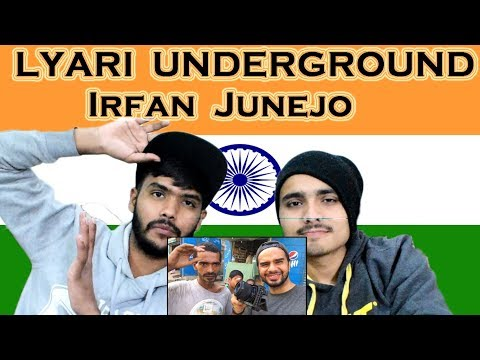 Indian react on LYARI UNDERGROUND LIVE | Irfan Junejo | Swaggy d