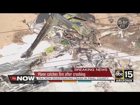 Plane crash kills 1 in Pinal County