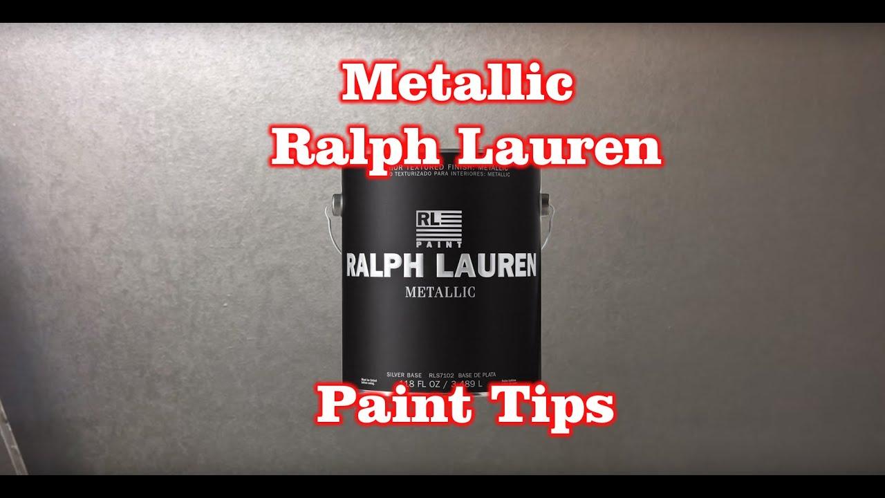 Silver Metallic Ralph Lauren Paint Tips Tricks