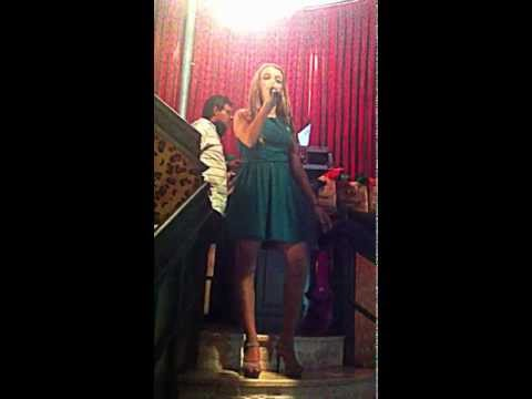 La Voz España 2013 Someone like you Adele cover by Klaudia Torrent