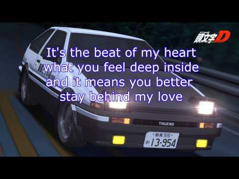initial D - heartbeat | Letra por SalamRulez