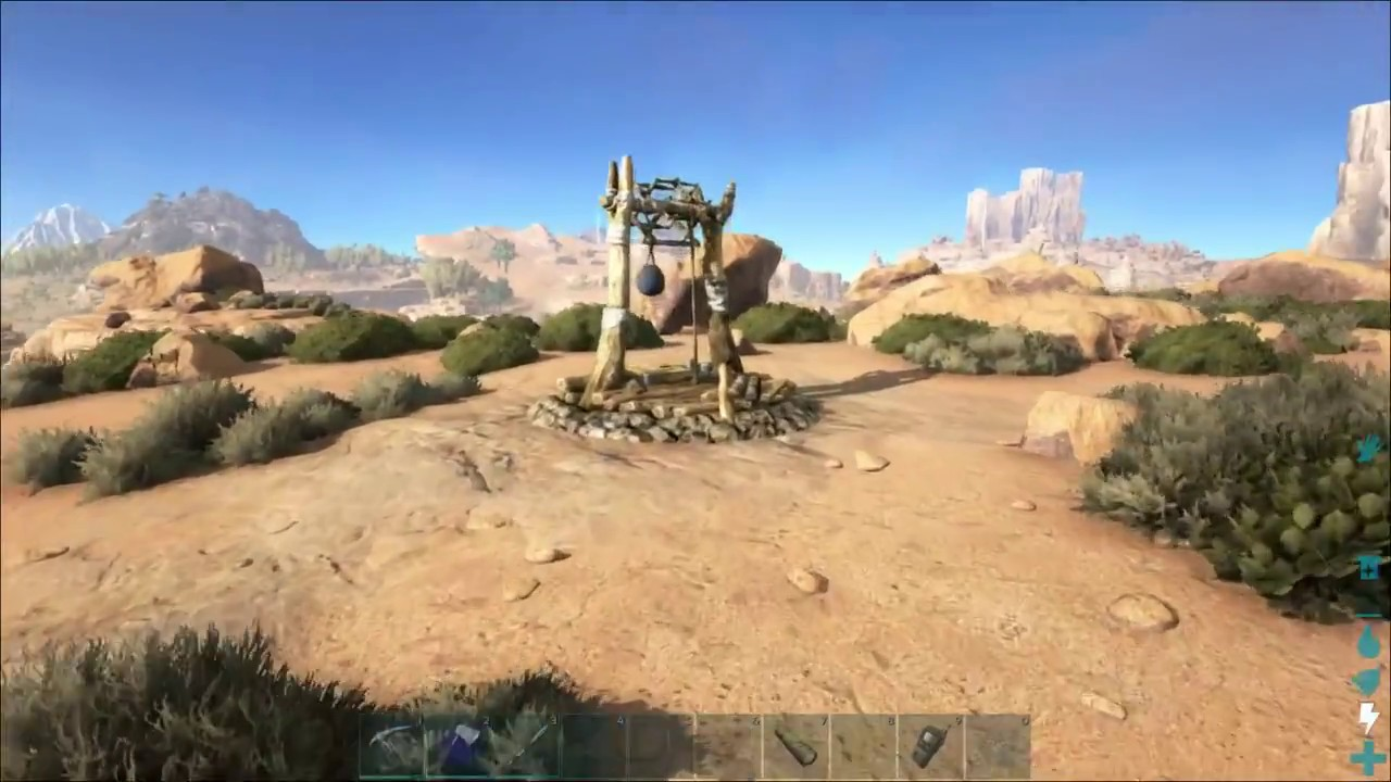 Where To Put A Water Well Down Ark Survival Evolved Youtube