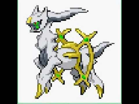 The most strongest pokemon ever Arceus 493  YouTube