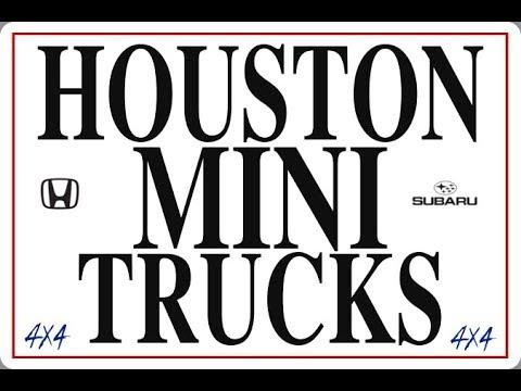 How Big Is A Mini Truck? Honda Acty Vs. Subaru Sambar Size Comparison