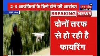 Jammu Kashmir के त्राल में आतंकी मुठभेड़, दोनों तरफ से हो रही है फायरिंग