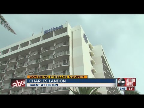 Clearwater Beach Hilton evacuated after fire