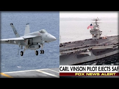 BREAKING: F-18 FIGHTER DOWN AS CARRIER MOVES FOR NORTH KOREA