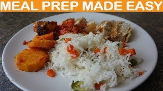 Meal prep healthy meals for the week – UK foods with Chicken.
