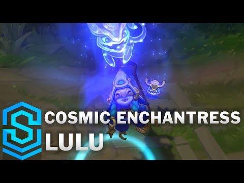 Cosmic Enchantress Lulu Skin Spotlight - League of Legends