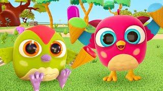 Развивающие мультики для малышей Совенок Хоп хоп. Новая игрушка - тележка с мороженым