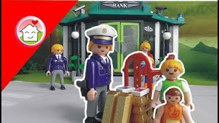 Playmobil Polizei film deutsch Der Banküberfall von family stories