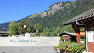 French Campsites - L'Oustalet, Chatel, Alps