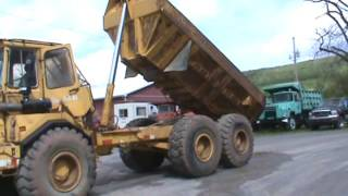 Volvo A25 6x6 Articulating Rock Truck 25 Ton Dump Truck For Sale
