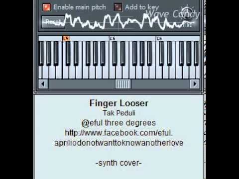 Finger Looser - Tak peduli (synth cover)