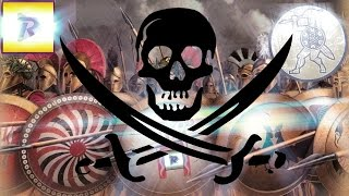 Rome 2  Онлайн битва №15 Пираты