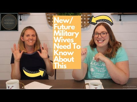 New/Future Military Wives Need To Know About This