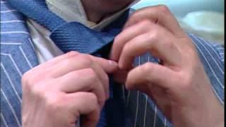 5. Windsor nyakkendő kötés (How to tie a tie: The