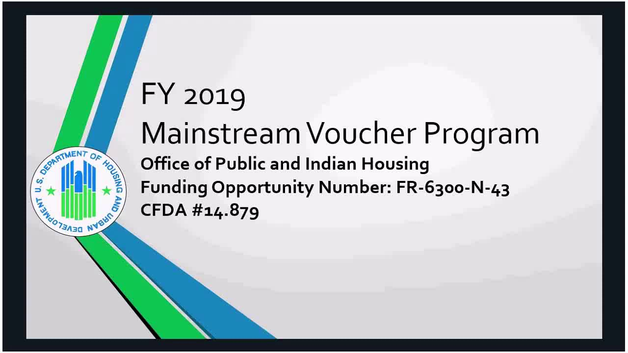 Mainstream Vouchers | HUD gov / U S  Department of Housing