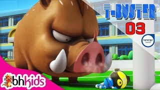 Phim Hoạt Hình Hay - Robot Người Máy T-Buster tập 03 | Hoạt Hình Vui Nhộn