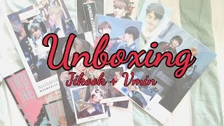 [Unboxing] Mesmerize (Jikook goods) and Vmin artbook