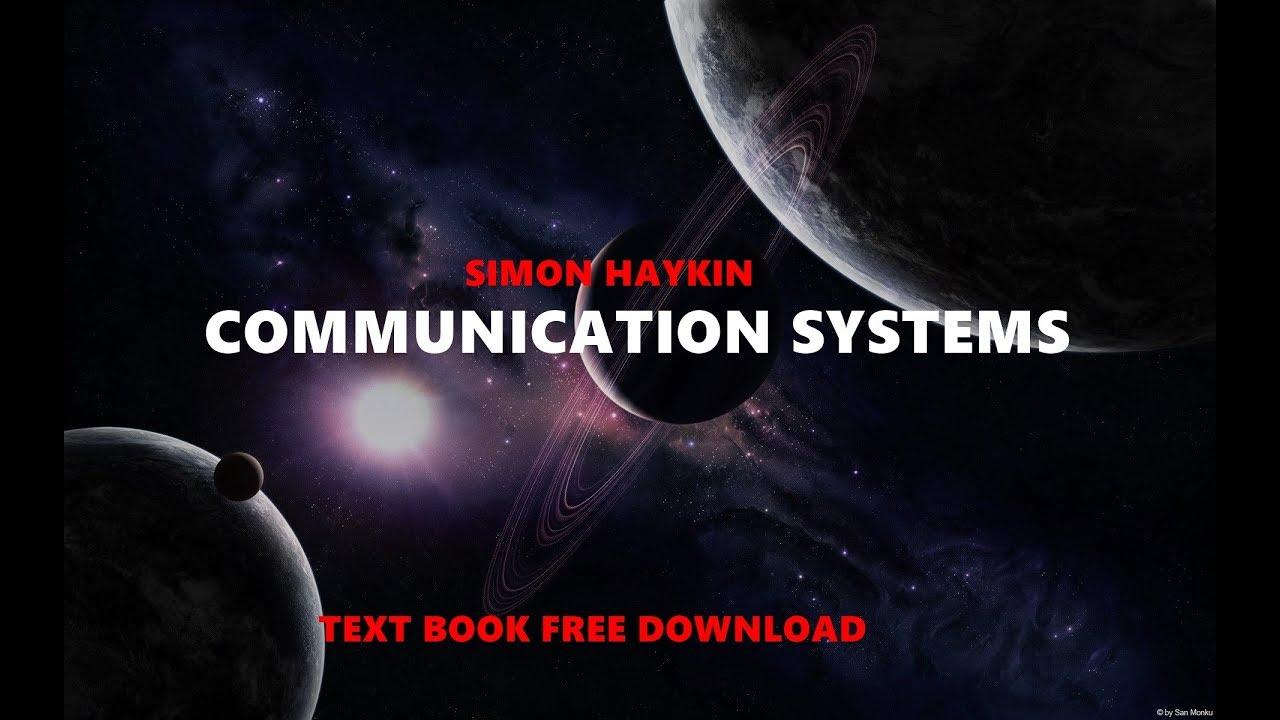 Simon Haykin Communication Systems Solution Pdf