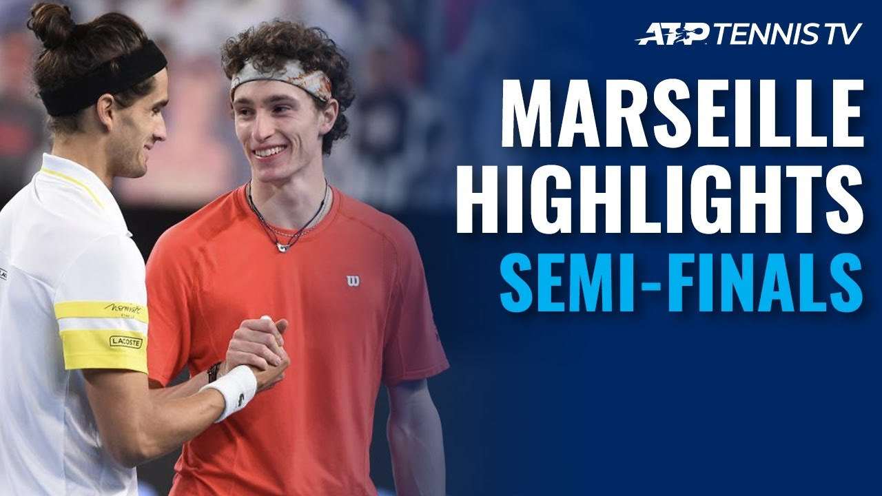 Medvedev vs Ebden; Humbert vs Herbert | Marseille 2021 Semi-Final Highlights