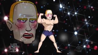 Американское шоу о Путине в образе клоуна гея (перевод)
