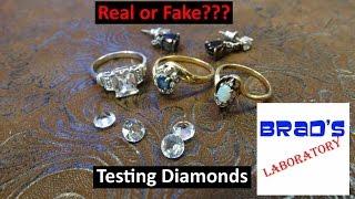 Diamond Testing
