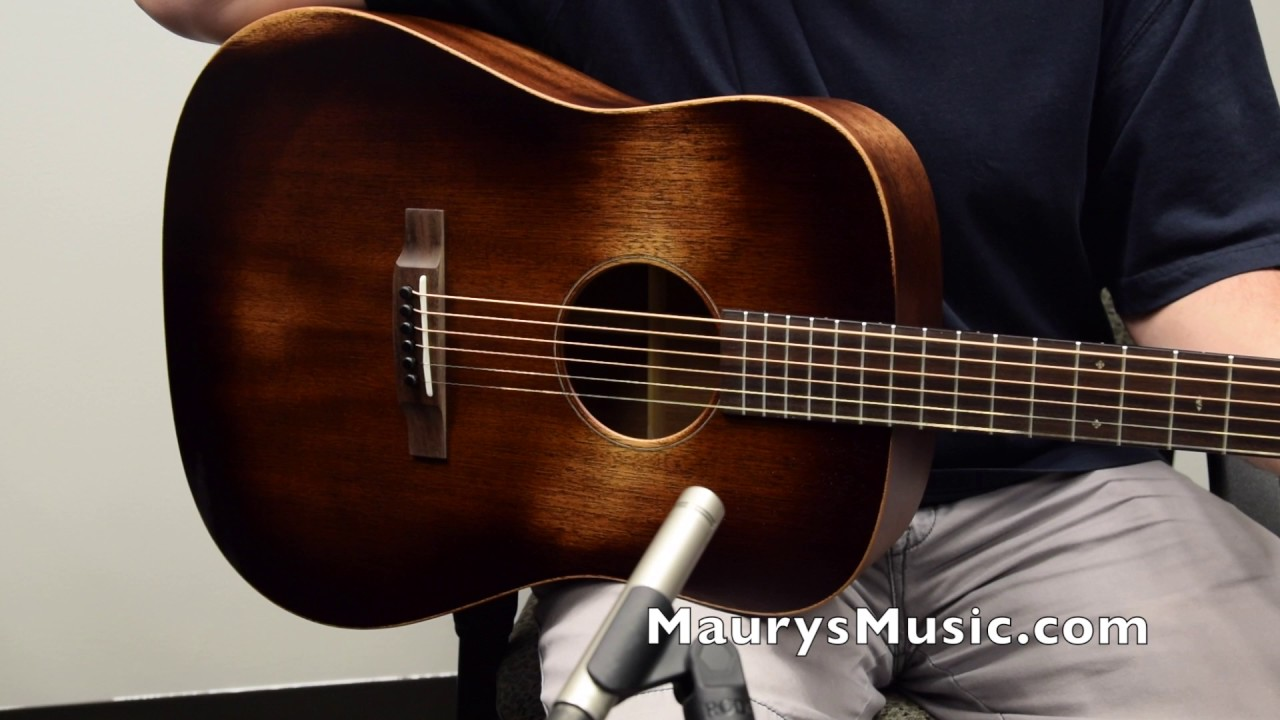 the martin d 15m streetmaster at maurysmusic com youtube. Black Bedroom Furniture Sets. Home Design Ideas