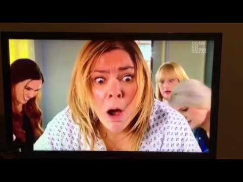 Hollyoaks Myra gives birth ( 15 February 2017 )