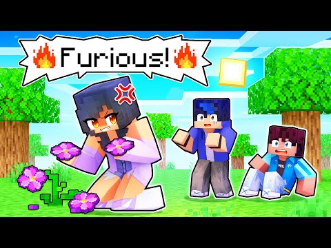 Aphmau Is FURIOUS In Minecraft!