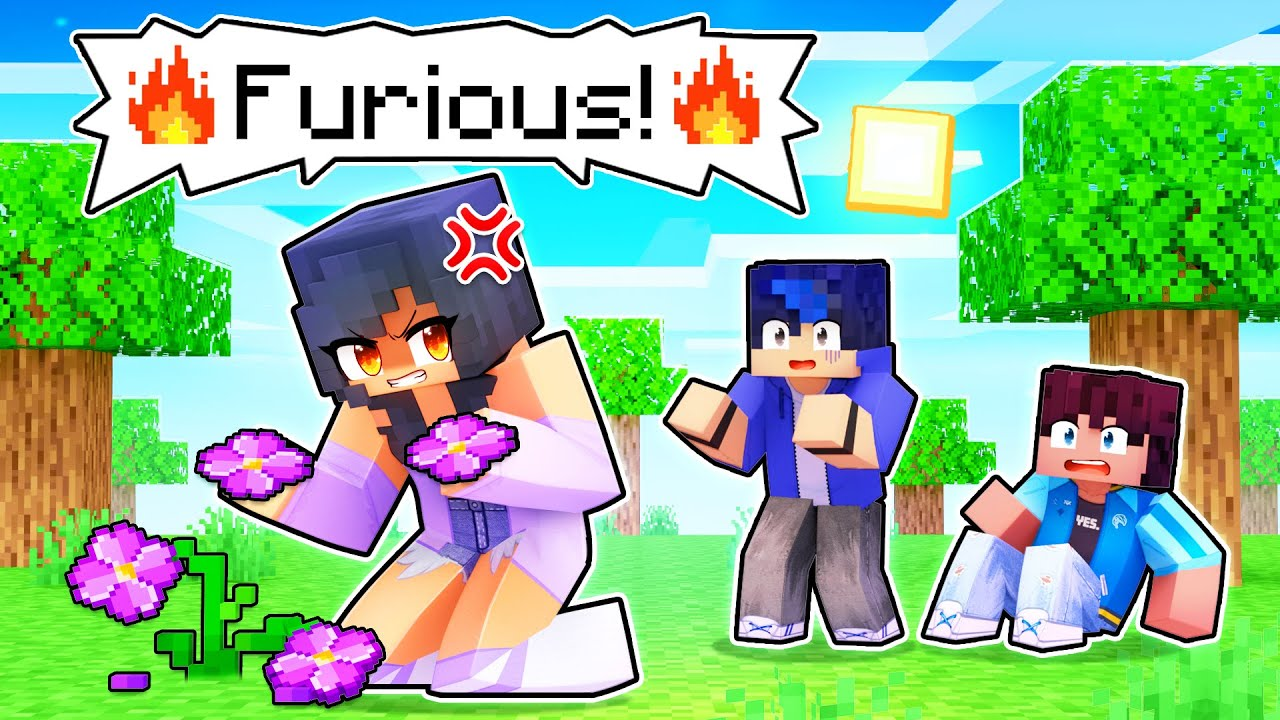 Download Aphmau Is FURIOUS In Minecraft!
