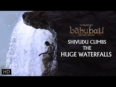 Shivudu Climbs the huge Waterfalls