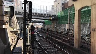 東京メトロ丸ノ内線 2000系2102F 小石川検車区 出庫