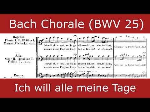 Bach - Ich will alle meine Tage (Collegium Vocale Gent)