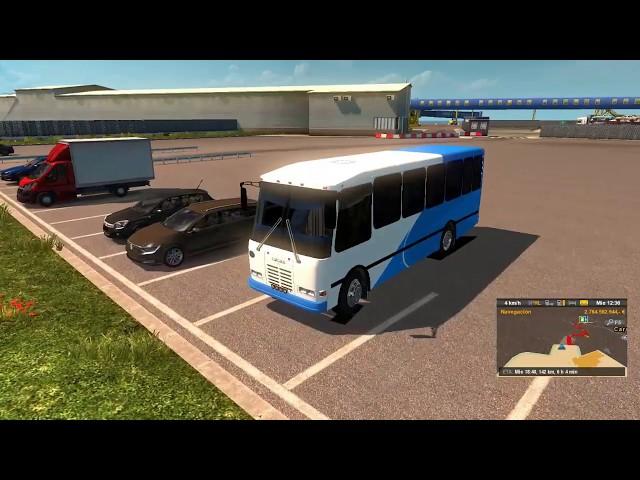 Euro truck simulator 2 mapa de venezuela {bus encava}