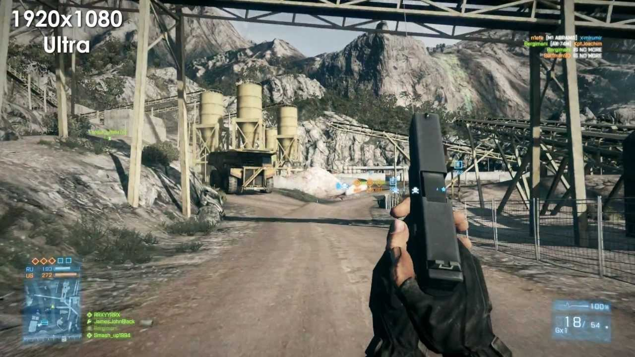Battlefield 3 Graphics Comparison (Ultra/High/Med/Low ...