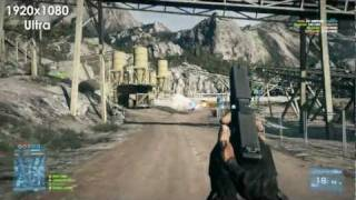 Battlefield 3 Graphics Comparison (Ultra/High/Med/Low) [1080p]