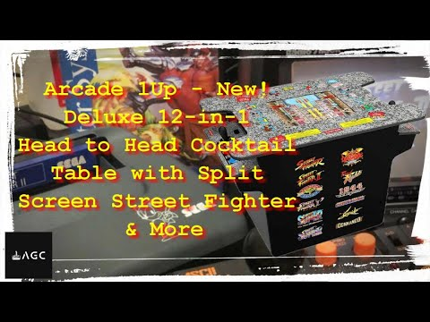 Arcades - Arcade 1Up – New! Deluxe 12-in-1 Head to Head from AGC - Andre Game Cave