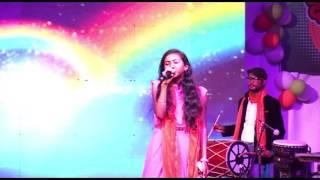 अरपा पैरी के धार - ARPA PAIRI KE DHAR Singing By Bhumika Sahu At 26 Jan 2017