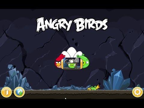 Angry Birds. Mine And Dine (level 16-8) 3 Stars. Прохождение от SAFa